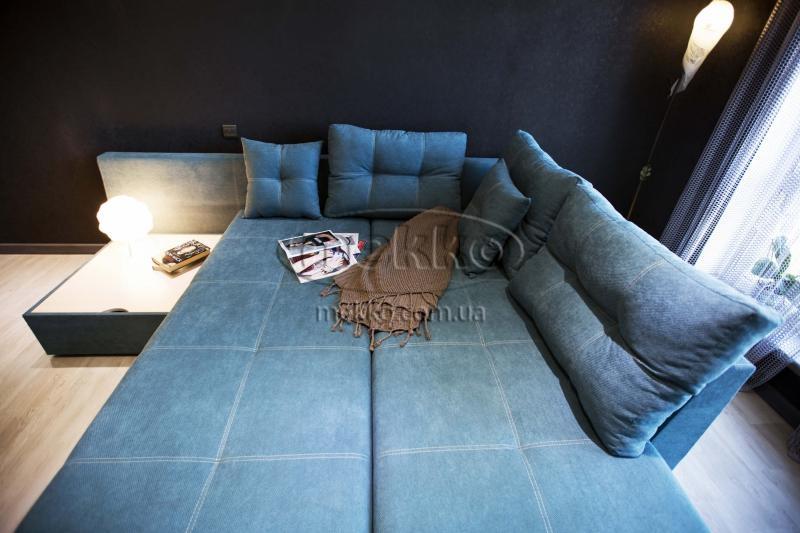 Кутовий диван з поворотним механізмом (Mercury) Меркурій ф-ка Мекко (Ортопедичний) - 3000*2150мм  Городище-3