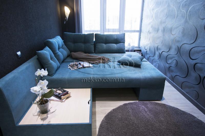 Кутовий диван з поворотним механізмом (Mercury) Меркурій ф-ка Мекко (Ортопедичний) - 3000*2150мм  Городище-4