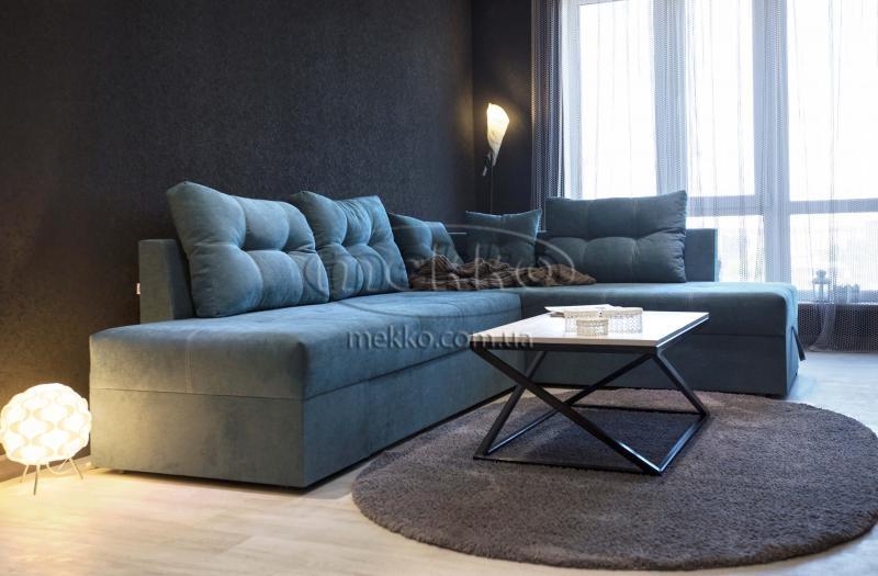 Кутовий диван з поворотним механізмом (Mercury) Меркурій ф-ка Мекко (Ортопедичний) - 3000*2150мм  Городище