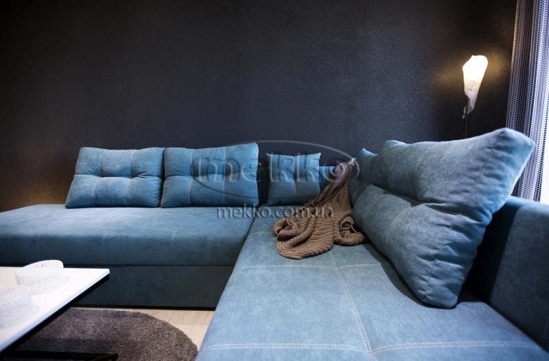 Кутовий диван з поворотним механізмом (Mercury) Меркурій ф-ка Мекко (Ортопедичний) - 3000*2150мм  Городище-5