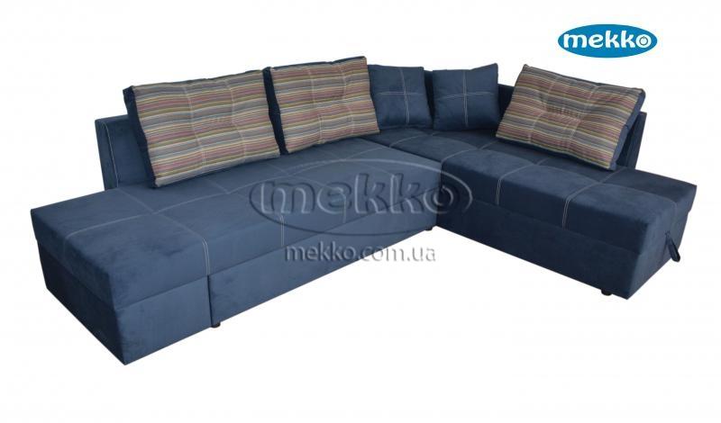 Кутовий диван з поворотним механізмом (Mercury) Меркурій ф-ка Мекко (Ортопедичний) - 3000*2150мм  Городище-13