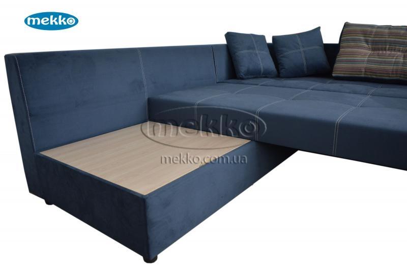 Кутовий диван з поворотним механізмом (Mercury) Меркурій ф-ка Мекко (Ортопедичний) - 3000*2150мм  Городище-17