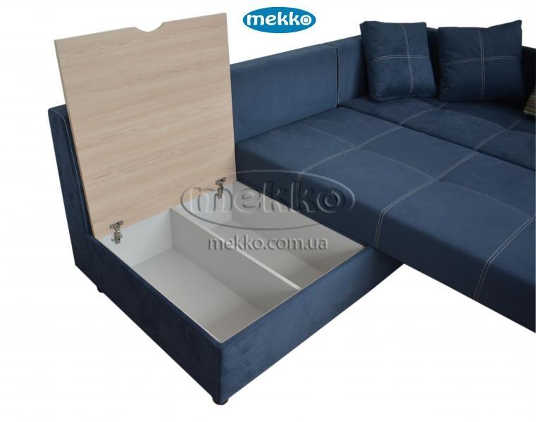 Кутовий диван з поворотним механізмом (Mercury) Меркурій ф-ка Мекко (Ортопедичний) - 3000*2150мм  Городище-18