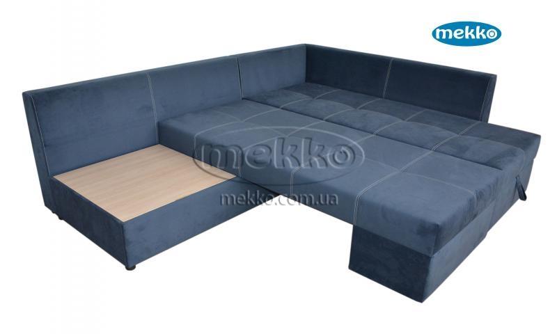 Кутовий диван з поворотним механізмом (Mercury) Меркурій ф-ка Мекко (Ортопедичний) - 3000*2150мм  Городище-16