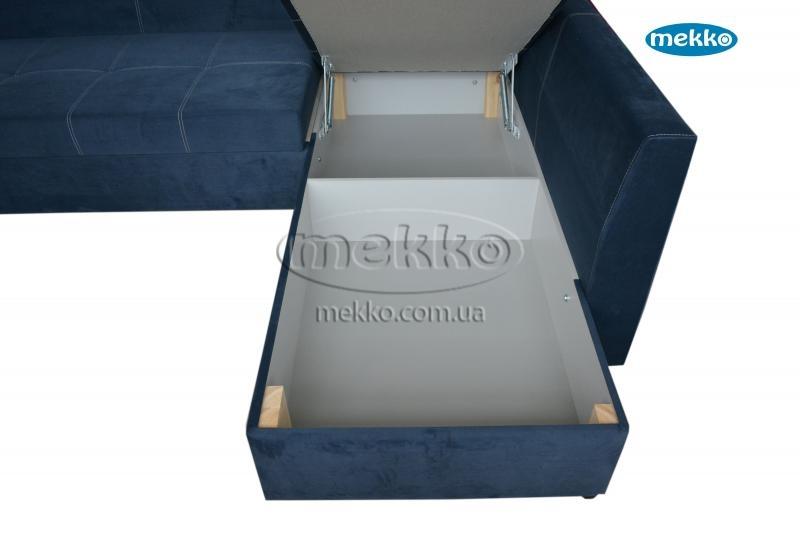 Кутовий диван з поворотним механізмом (Mercury) Меркурій ф-ка Мекко (Ортопедичний) - 3000*2150мм  Городище-20