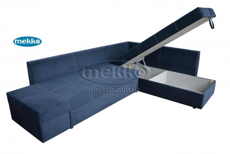 Кутовий диван з поворотним механізмом (Mercury) Меркурій ф-ка Мекко (Ортопедичний) - 3000*2150мм  Городище-14