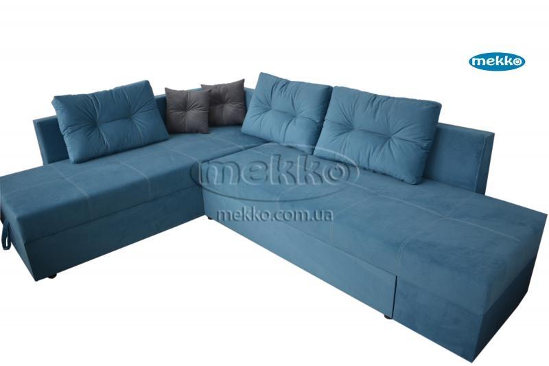 Кутовий диван з поворотним механізмом (Mercury) Меркурій ф-ка Мекко (Ортопедичний) - 3000*2150мм  Городище-10