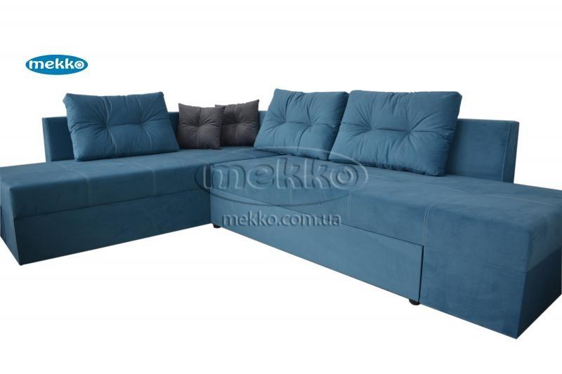 Кутовий диван з поворотним механізмом (Mercury) Меркурій ф-ка Мекко (Ортопедичний) - 3000*2150мм  Городище-11
