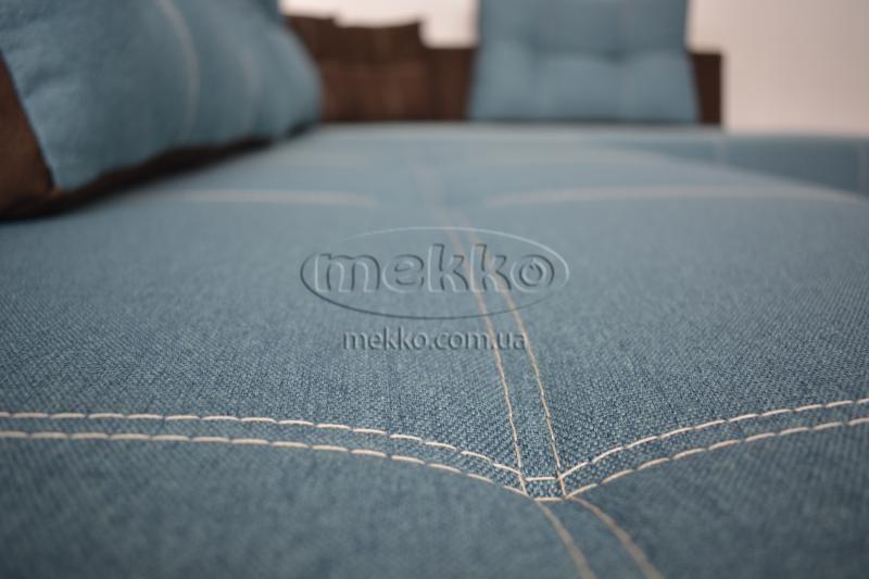 Кутовий диван з поворотним механізмом (Mercury) Меркурій ф-ка Мекко (Ортопедичний) - 3000*2150мм  Городище-9