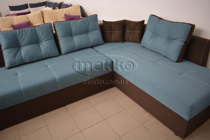 Кутовий диван з поворотним механізмом (Mercury) Меркурій ф-ка Мекко (Ортопедичний) - 3000*2150мм  Городище-8