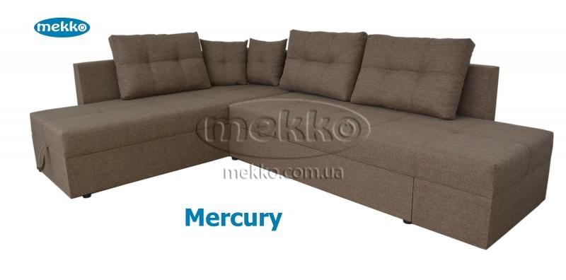 Кутовий диван з поворотним механізмом (Mercury) Меркурій ф-ка Мекко (Ортопедичний) - 3000*2150мм  Городище-12